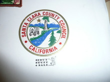 Santa Clara County Council Decal