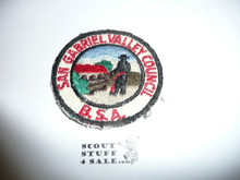 San Gabriel Valley Council Patch (CP) #2 - Used