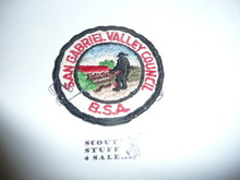 San Gabriel Valley Council Patch (CP) - Used