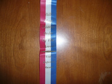 Order of the Arrow Lodge #566 Malibu Bill Hart Dist O.A. Unit Inspection Flag Ribbon