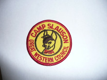 Late 1970's Camp Slauson Patch - Southern California Scouting