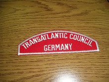 Transatlantic Council GERMANY Red/White Council Strip