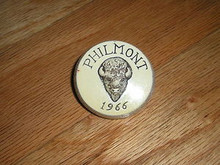 RARE 1966 Philmont Scout Ranch Plaster Necker Slide