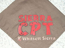 Camp Whitsett Sierra C.P.T. (Older Boy Program) Neckerchief - #1