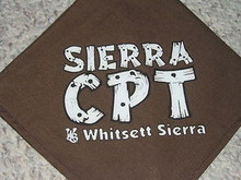 Camp Whitsett Sierra C.P.T. (Older Boy Program) Neckerchief - #2