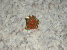 Camp Whitsett Enamel Beaver Pin - Scout