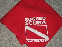 Camp Emerald Bay - Rugged Scuba Neckerchief - Very RARE