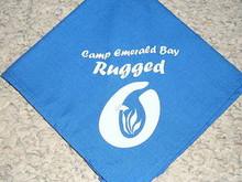Camp Emerald Bay - Rugged O Neckerchief - Very RARE
