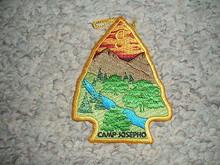 2007 Camp Josepho Patch - Single Run Issue