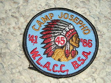 1986 Camp Josepho Patch - 45th Anniversary