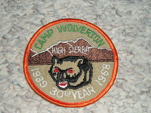 1968 Camp Wolverton Patch - Southern California Scouting