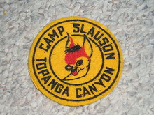 1950's Camp Slauson FELT Patch - Southern California Scouting