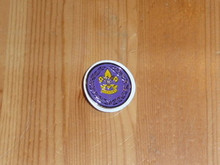 Commissioner Service Wreath Pin Purple - Scout