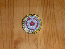1987 Commissioner Conference Pin 5 No. Cal. Councils - Scout