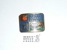 North Orange Council Neckerchief Slide