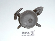 Forty-Niner Council Neckerchief Slide
