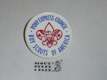 Pony Express Council Neckerchief Slide