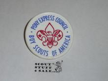 Pony Express Council Neckerchief Slide