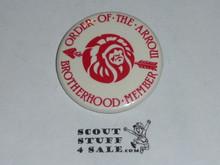 Order of the Arrow Brotherhood Member Button