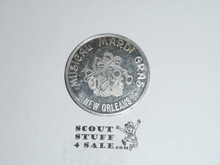 1980 National BSA Meeting Musical Mardi Gras Coin / Token