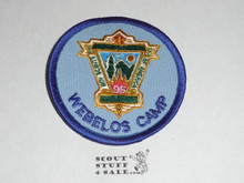 95th BSA Anniversary Patch, Webelos Camp