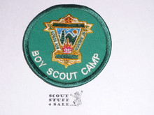 95th BSA Anniversary Patch, Boy Scout Camp