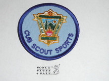 95th BSA Anniversary Patch, Cub Scouts Sports