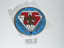 75th BSA Anniversary, Rigid Sticker