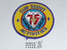 75th BSA Anniversary Patch, Cub Scout Activities