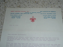 Great Western Council, 1973 Letter on Council Stationary #2