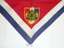 Schiff Scout Reservation, Shield Emblem Neckerchief, Used