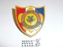 Schiff Scout Reservation, Neal Shield Neckerchief Slide