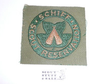 Schiff Scout Reservation, Square Twill Patch