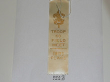 Crescent Bay Area Council, Troop 68 Field Meet Ribbon, 3rd Place