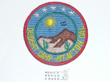 Crescent Bay Area Council, Desert Camp Mount Afton Patch, Fully Embr.