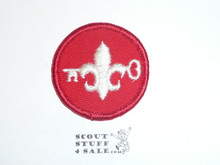 Crescent Bay Area Council, JLT Patch Key Center, Red