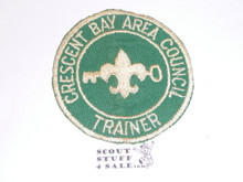 Crescent Bay Area Council, Trainer Patch, Lightly Soiled