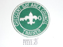 Crescent Bay Area Council, Trainer Patch, Rubber Cement On Back