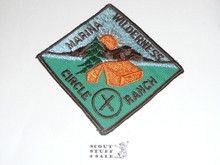 Crescent Bay Area Council, Marina District Wilderness Campout Patch