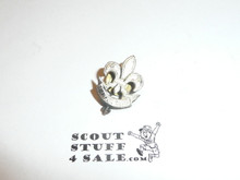 Silver Screw Back Foreign Boy Scout Pin