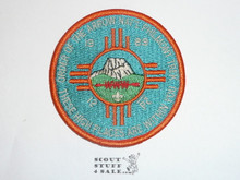 Philmont Scout Ranch, 1989 Order of the Arrow Philmont Trek Patch