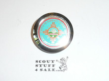 Philmont Scout Ranch Plastic Neckerchief Slide, 1989 Order of the Arrow Philmont Trek