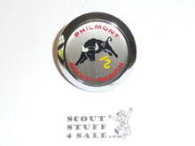 Philmont Scout Ranch Plastic Neckerchief Slide, Bull