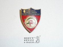 Philmont Scout Ranch Metal Neckerchief Slide, National Junior Leader Instructor Training Camp