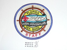 Florida High Adventure Seabase Staff Patch