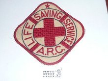 Red Cross Life Saving Service ARC Jacket Patch