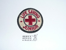 Red Cross Life aving Junior Patch, box soiling