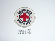 Red Cross Beginner Swimmer Patch