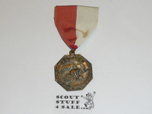 Bronze Camping Boy Scout Contest Medal, Replacement Ribbon
