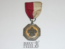 1960's Silver Boy Scout Contest Medal, Used